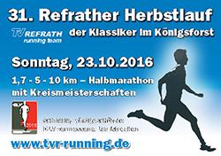 Refrather Herbstlauf 2016
